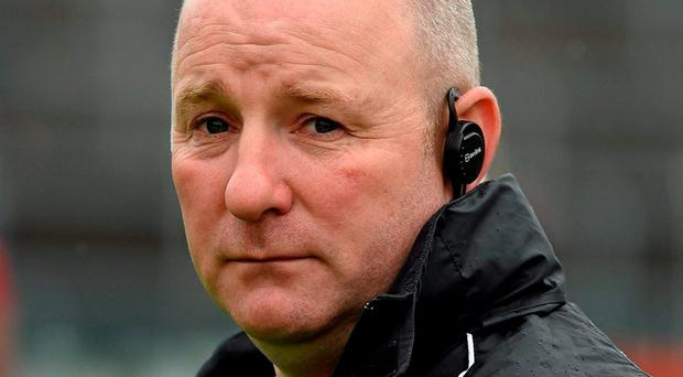 Louth manager Colin Kelly. Photo: Ray McManus / Sportsfile