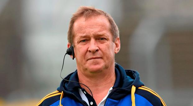 Clare manager Colm Collins. Photo: Stephen McCarthy / Sportsfile