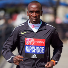 2015 London Marathon winner Eliud Kipchoge Photo: NNIKLAS HALLE'N/AFP/Getty Images