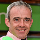 Ruby Walsh missed the Grand National after suffering a hairline fracture Photo: Seb Daly / SPORTSFILE