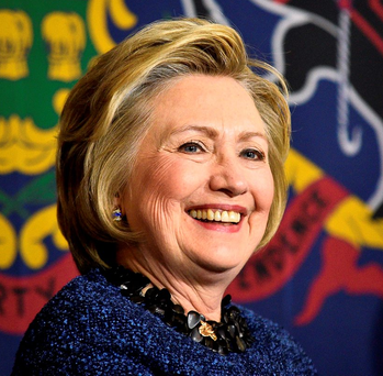 Hillary Clinton's victory in New York means she is effectively the Democratic Party candidate Photo: REUTERS/Charles Mostoller