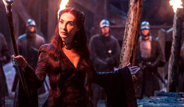 Melisandre in Game of Thrones. Photo: HBO
