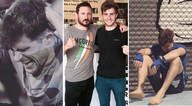 Éanna is now training with Conor McGregor's coach John Kavanagh and will compete in his first fight in August.