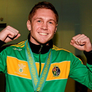 Ireland's Jason Quigley will face Mexican-born James De La Rossa on the undercard of the World title fight between Amir Khan and Canelo Alvarez on May 7 in Las Vegas. Photo: Paul Mohan/Sportsfile