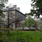 The Provost's house in Trinity College where the talks between Fine Gael and Fianna Fail took place. Photo: Tom Burke