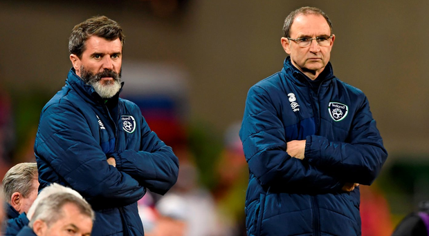 Roy Keane and Martin O'Neill are plotting a course for Ireland's Euro 2016 campaign. Photo: Sportsfile