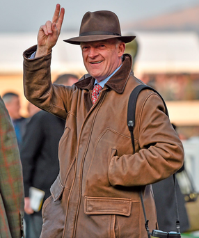 Trainer Willie Mullins. Photo: Seb Daly/Sportsfile
