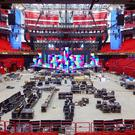 This year's Eurovision stage is already under construction in Sweden