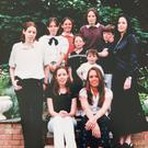 Gillian's sister Lisa (far left) passed away after contracting meningococcal septicaemia in 1997