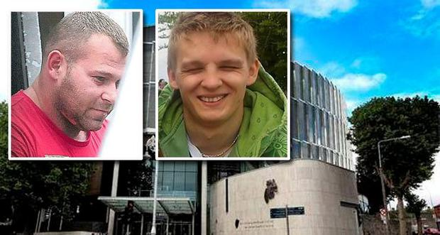 Leszek Sychulec (left) had pleaded not guilty to murdering Patryk Krupa (right)