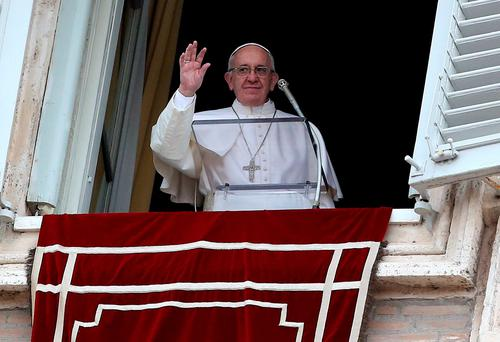 At the beginning of April, Pope Francis asked every Catholic church in Europe to take up a special collection for the people of war-torn Ukraine on 24 April. Photo: Reuters