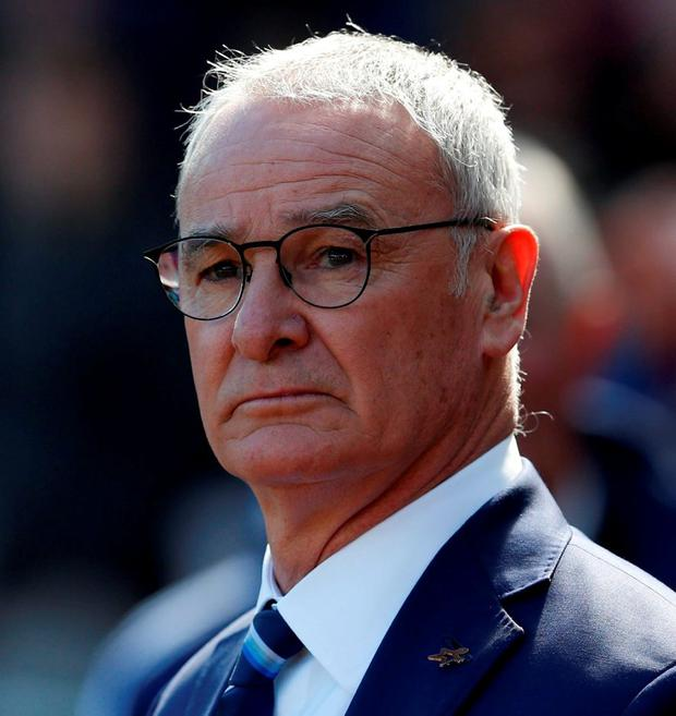 Leicester City manager Claudio Ranieri has admitted that his team could win the Premier League. Photo: Owen Humphreys/PA Wire