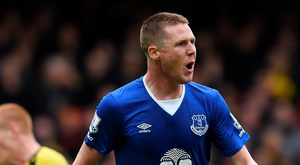 James McCarthy turned down a move to Liverpool Photo: Michael Regan/Getty Images