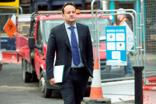 Health Minister Leo Varadkar. Photo: Tony Gavin