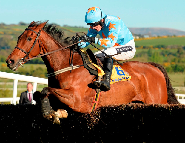 Un De Sceaux, here winning at Punchestown last April, can score for Paul Townend at Sandown today Photo: Cody Glenn / SPORTSFILE