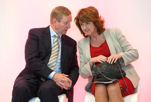 It is more than reasonable to presume that Enda Kenny and Joan Burton, have had some private conversations – if only to see how the land lies. Picture credit: Damien Eagers