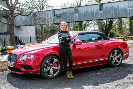 The Bentley GTC Speed is one of the fastest cars in the world. Photo: Kyran O'Brien