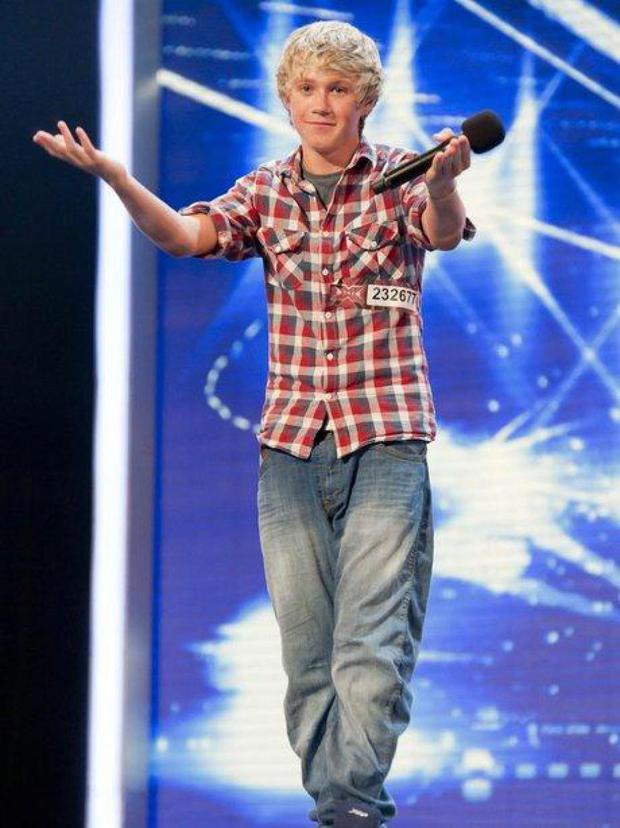 Niall Horan's X Factor audition