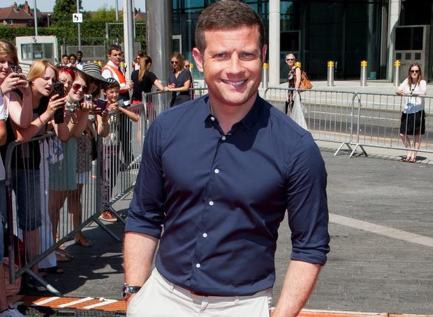 Dermot O'Leary at X Factor auditions