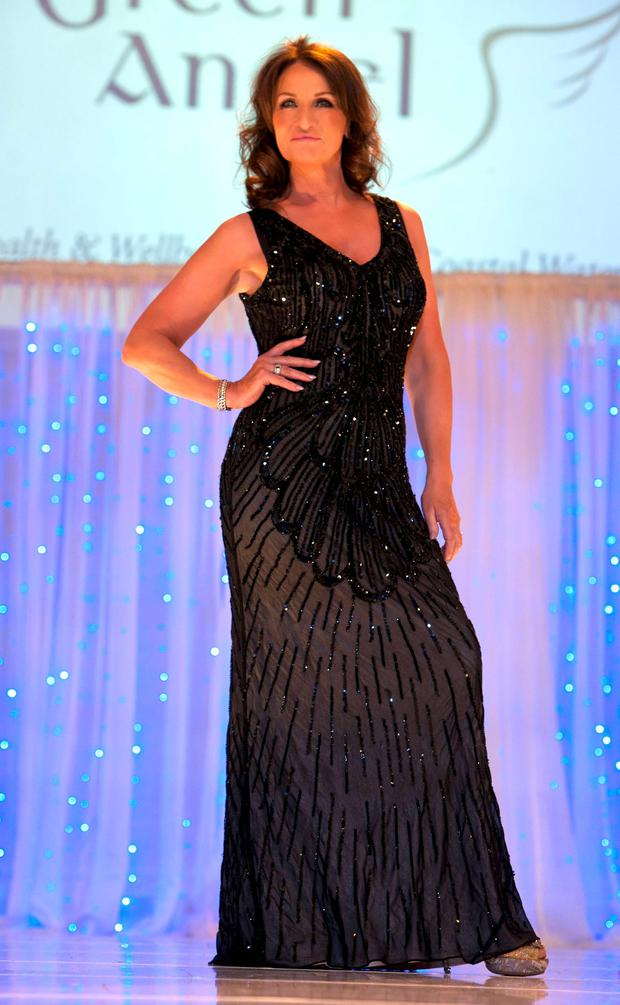 Celia Holman Lee at the 'Angels For Barnardos' charity fashion show