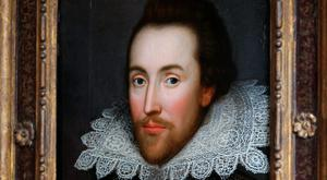 A painting of William Shakespeare which is believed to be the only authentic image of Shakespeare made during his life is unveiled by The Shakespeare Birthplace Trust