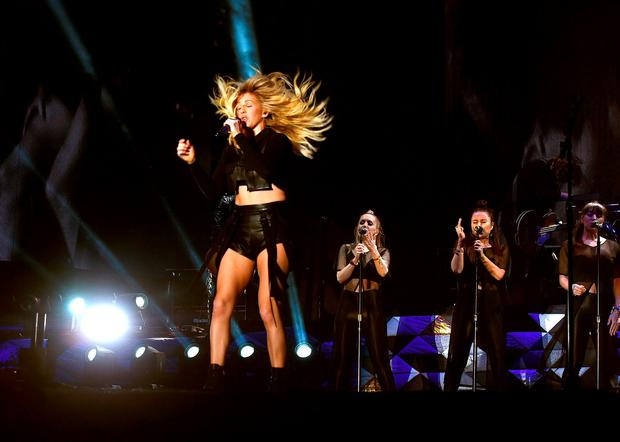 Singer Ellie Goulding performs onstage during day 1 of the 2016 Coachella Valley Music & Arts Festival Weekend 2 at the Empire Polo Club on April 22, 2016 in Indio, California. (Photo by Kevin Winter/Getty Images for Coachella)