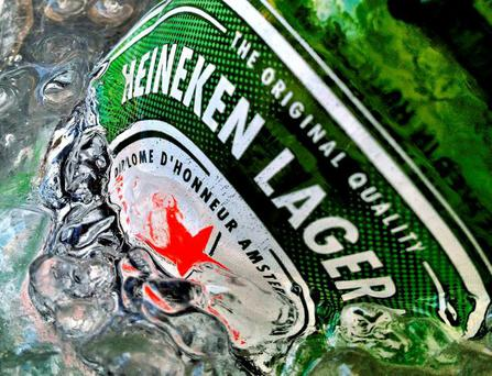 The draught version of Heineken Light will be brewed at Heineken's brewery in Cork