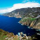 The Slieve League Cliffs in Donegal, one of the highest sea cliffs in Europe.