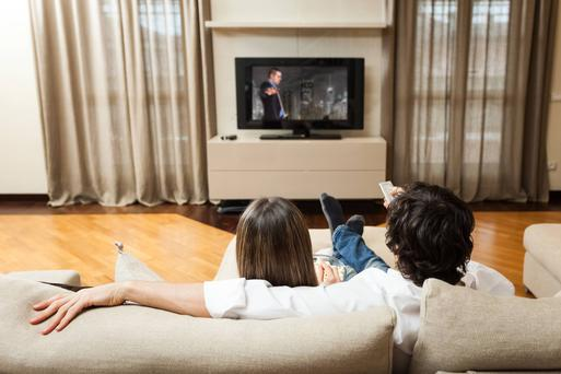 Irish TV is on the brink of completing a deal with the US telecoms giant Verizon that will see the channel reach 1.2 million American homes in the Boston region. Stock Image