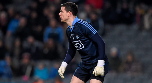 No team has managed to stop Stephen Cluxton for a full game, and if he has 25 kick-outs Dublin will win three-quarters of them Photo: Ray McManus / SPORTSFILE
