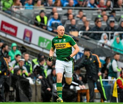 Kieran Donaghy looks refreshed and rejuvenated Photo: Ramsey Cardy / SPORTSFILE