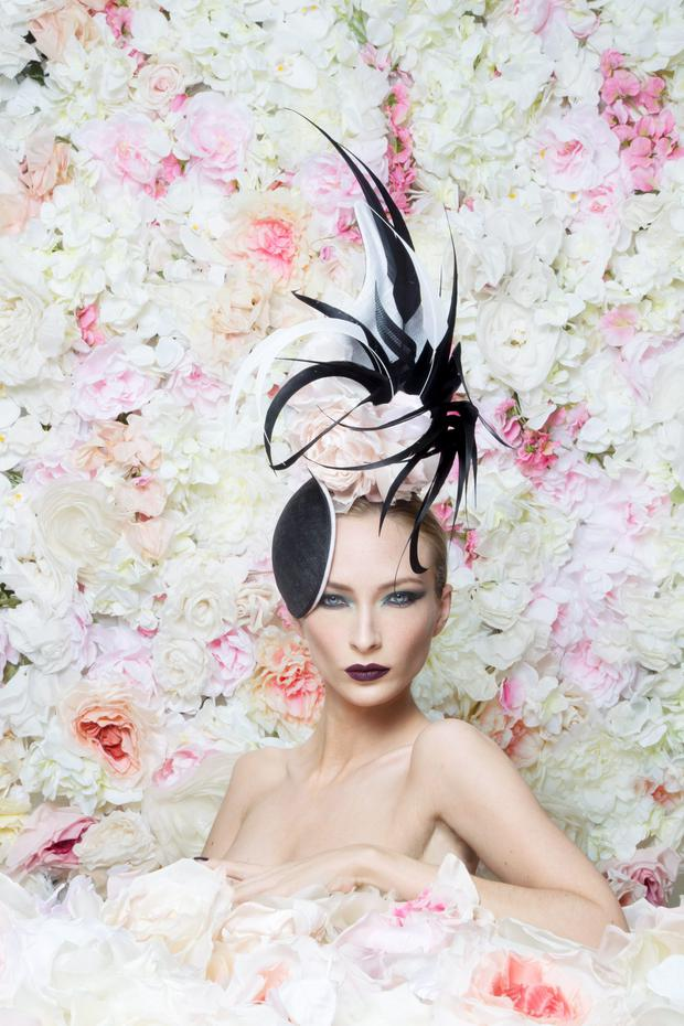 HAT'S MAGIC: Milliner to the stars Philip Tracey who crowned the heads of 66 guests at the wedding of Kate and Wills is busier than ever and has just released his new collection