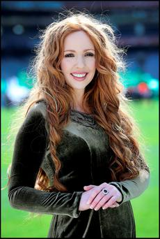 CELTIC SIREN: Singer Lisa Lambe will perform 'The Foggy Dew' during Laochra at Croke Park. Photo: Steve Humphreys