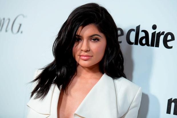 STILL A TEENAGER: Kylie Jenner is just 18 but has already begun the process of altering her face courtesy of a plastic surgeon. Photo: Richard Shotwell/Invision/AP