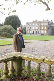 TO THE MANOR BORN: The current Lord Waterford, at Curraghmore House, Co Waterford. Photo: Patrick Browne