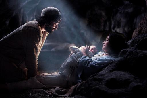 NATIVITY PLAY: Without the Birth of Christ (depicted here in the movie The Nativity), what would millions of aspiring thespian schoolchildren do, left with no inn-keeper to play, no wise men, nor three kings bearing gifts for Baby Jesus?