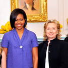 Reese Witherspoon, Michelle Obama, Hillary Clinton and Andrea Jung in 2010