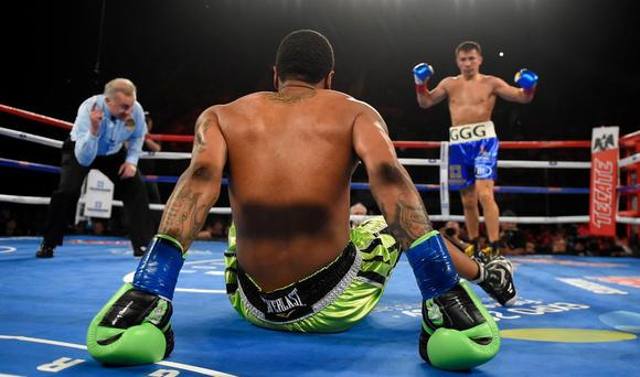 Gennady Golovkin was a facile winner over Dominic Wade