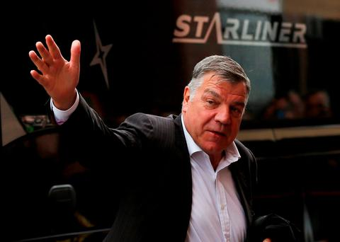 Sunderland manager Sam Allardyce arrives at the stadium before the game Action Images via Reuters / Lee Smith