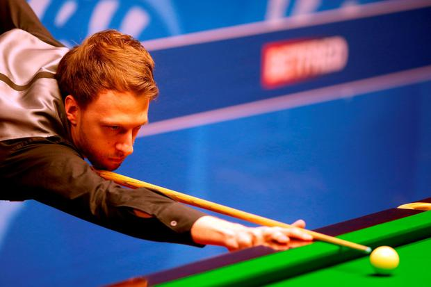 Judd Trump during day nine of the Betfred Snooker World Championships at the Crucible