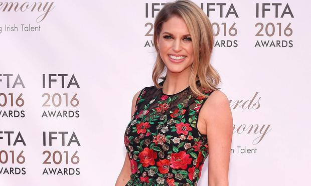 Amy Huberman at the IFTA Awards 2016