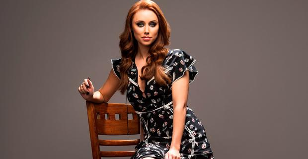 Una Healy photographed for Weekend Magazine. Picture: Mark Nixon