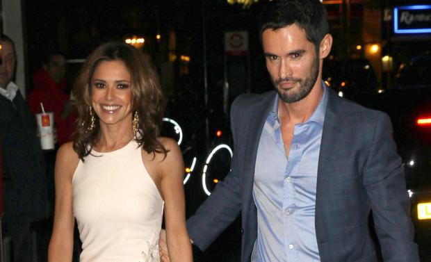 Cheryl and ex-husband Jean Bernard Fernandez Versini in London