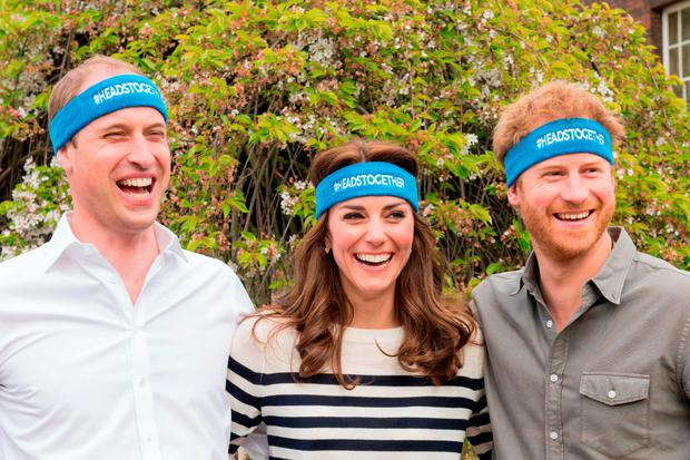 he Duke and Duchess of Cambridge and Prince Harry are spearheading a new campaign called Heads Together in partnership with inspiring charities
