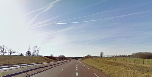 The A39 in Beaurepaire-en-Bresse credit: Google Maps