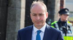 Fiana Fail leader Micheal Martin. Photo: Fergal Phillips