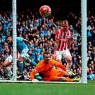 Stoke City goalkeeper Shay Given. Photo: Martin Rickett/PA Wire.
