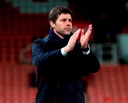 Tottenham Hotspur manager Mauricio Pochettino. Photo: Nick Potts/PA Wire.
