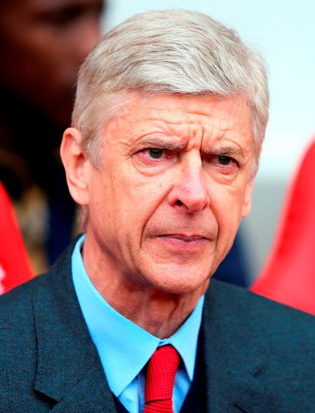 Arsene Wenger Photo: Scott Heppell/PA Wire