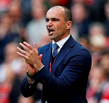 Everton manager Roberto Martinez. Photo: Andrew Couldridge/Action Images via Reuters